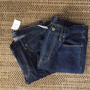 NWT 2 Pairs of JCrew 32/30 Men's Bootcut Jeans